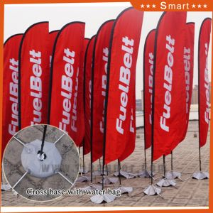 Cheap Cross Bases Beach Flag for Outdoor Advertising pictures & photos