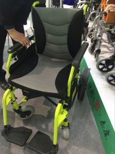 Electric Power Wheelchair with High Quality pictures & photos