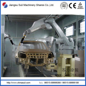 China Suli Shares Car Powder Spraying Booth for Coating Line pictures & photos