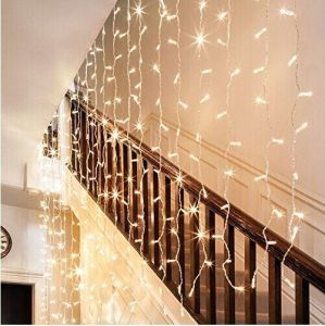 IP44waterproof LED Christmas 3*3m 600LEDs Curtain Light pictures & photos