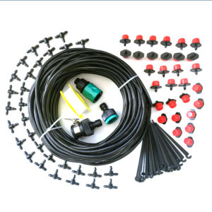 DIY Garden Drip Irrigation Kit with 30 Drippers, 100 Feet Hose pictures & photos