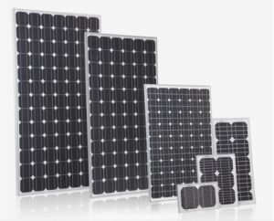 150W Monocrystalline Silicon Sunpower Solar Panel Suit for Solar Street Light