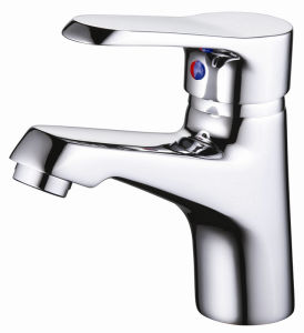 Brass Sanitary Ware F105 Series Zf-F10511da Basin Tap pictures & photos