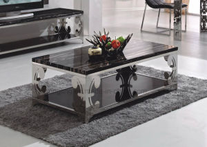 European Style Artificial Italian Marble Coffee Table Design