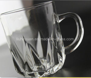 220ml Water Glass Cup with Handle pictures & photos