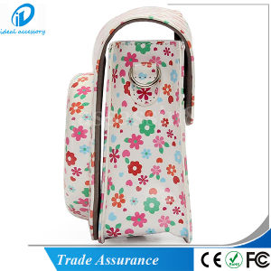 White Flower PU Leather Mini8 Mini8 Plus Camera Case Bag pictures & photos