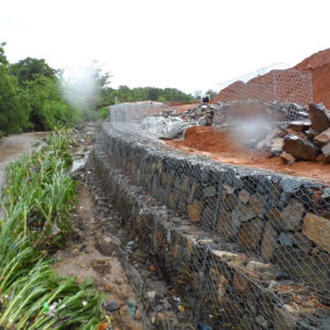 China Wholesale Mesh 80X100X2.7mm Gabion Mesh pictures & photos