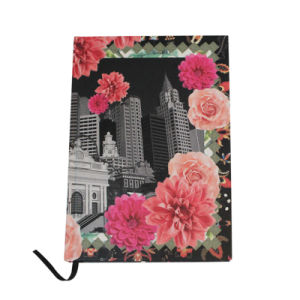 Flowers Paper Covered Recycled Paper Notebook pictures & photos