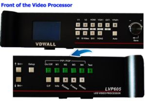 Vdwall Lvp605s Vdwall Lvp605s Series LED Display Video Processor pictures & photos