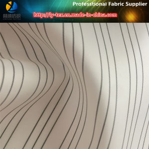 White Twill Sleeve Lining in Cheap Yarn Dyed Stripe Fabric (S140.150) pictures & photos