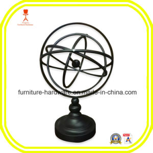 Cast Iron Parts Armillary Sphere World Globe Table and Studio Decor pictures & photos