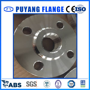 """DIN2566 Threaded Flange with Neck Pn16 304L 1"""" (PY0026) pictures & photos"""