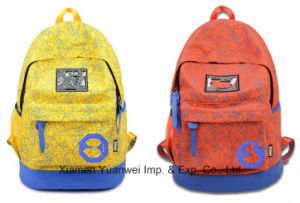 Fashion Canvas Printing Backpack Bag for School, Travel, Leisure, Laptop pictures & photos