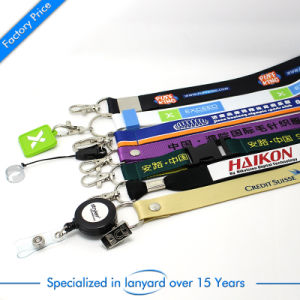 China Wholesale Promotional Polyester Lanyard pictures & photos