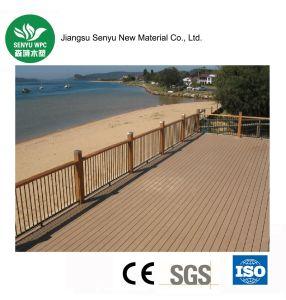 WPC Teak Color Fence Railing pictures & photos