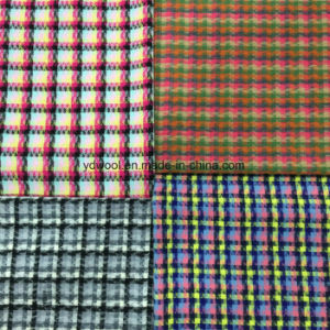 Yarn-Dyed Colors Check Wool Fabric pictures & photos