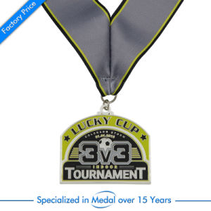 Fencing Classic Silver Custom Metal Medal pictures & photos
