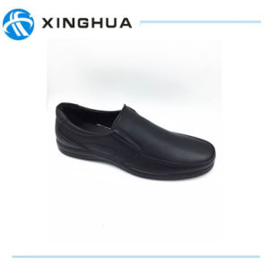 PU Leather Male Leisure Shoes pictures & photos