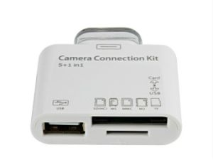 5in1 USB Camera Connection Kit Card Reader Adapter pictures & photos