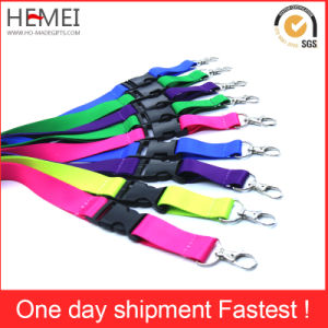 Ribbon Customized Advertising Polyester Lanyard for Promotion pictures & photos