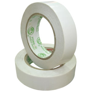 Double Side Tape with Acrylic Asolvent Adhesive pictures & photos