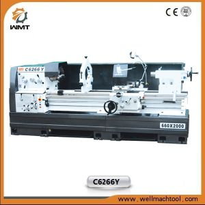 C6266Y Horizontal Engine Lathe Machine with Gap pictures & photos