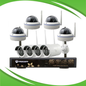 8CH 2.4GHz 720p/960p WiFi IP Camera NVR Kit pictures & photos
