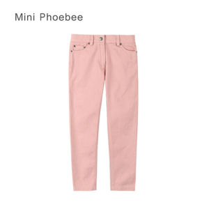 Phoebee 100% Cotton Girls Pants Kids Clothes Sale Online pictures & photos