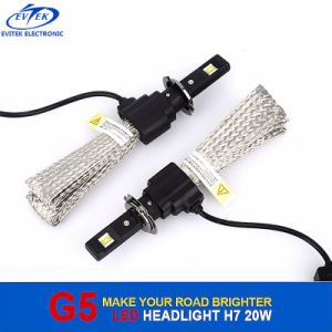 Fanless Heat Sink Osram LED Headlight Bulbs H7 H11 9005 9006 with Aluminum Housing pictures & photos