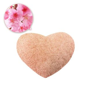 2017 Best Seller! ! Pink Heart Shape Konjac Sponge pictures & photos