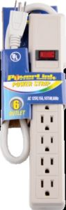 6 Outlets Surge Protector Power Strip with UL/cUL/ETL/cETL Approval--90j/270j/750j pictures & photos