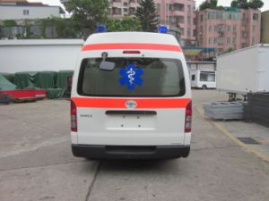 Toyota Hiace High Roof 2.7L Gasoline LHD Ambulance pictures & photos