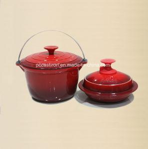 4PCS Cast Iron Cookware Set in Black Color pictures & photos