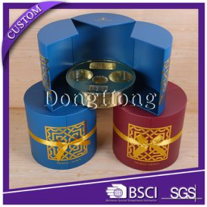 Premium Handmade Feature Cylinder Cardboard Perfume Packaging Box pictures & photos