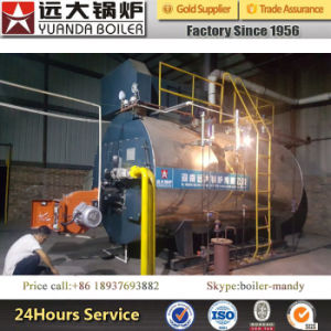 Natural Gas and Diesel or Natural Gas and Heavy Oil Fired Duel Fuel Steam Boiler pictures & photos