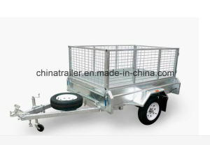 7X4 Galvanized Box Trailer with Tipping pictures & photos
