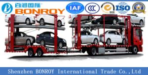Long Vehicle 2-Axle Car Carrier Semi-Trailer pictures & photos