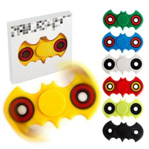 Kids Adult ABS Colorful Bat Plastic Bearing Fidget Hand Spinners pictures & photos
