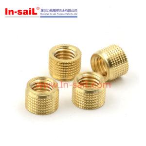Non Standard Fastener Brass Knurled Insert Nut pictures & photos