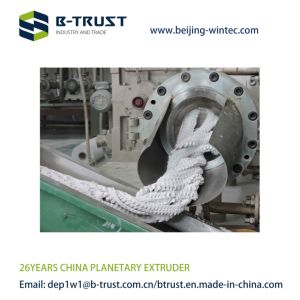 Btrust Planetary Extruder for Semi-Rigid PVC Films Calender Line pictures & photos