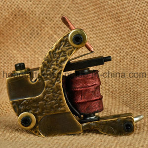 Wholesale New Brass Tattoo Coil Gun with High Quality pictures & photos