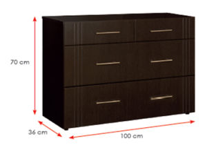 Wooden Wardrobe /Nightstands /Shoes Case /Side Cabinet (HX-DR104) pictures & photos