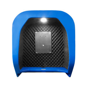 Wall Mounted Acoustic Telephone Hood for Commercial Locations / Industrial Premises pictures & photos