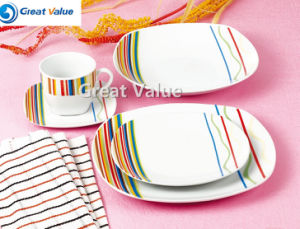 20PCS Crockery Color Clay Dinner Ware pictures & photos