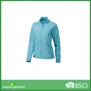 New Style Soft and Windproof Micro Polar Fleece Jacket pictures & photos