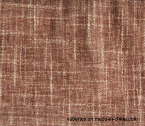 Woven Polyester Velvet Household Textile Upholstery Sofa Fabric pictures & photos