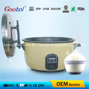 Special Design Lid Handle & Body Ear Drum Type Big Rice Cooker pictures & photos