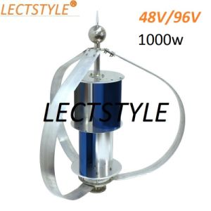 1000W AC48V/96 Q Style Vertical Wind Generator for Home Application pictures & photos