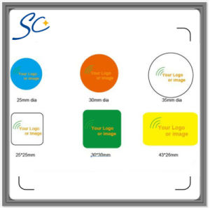Ntag213/S50/F08 NFC Stickers with Customized Size pictures & photos