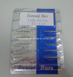 Manufacturing Best Quality Dental Products Dental Surgical Diamond Dental Burs pictures & photos